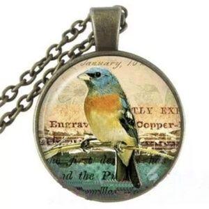 Necklace- NEW- Bird